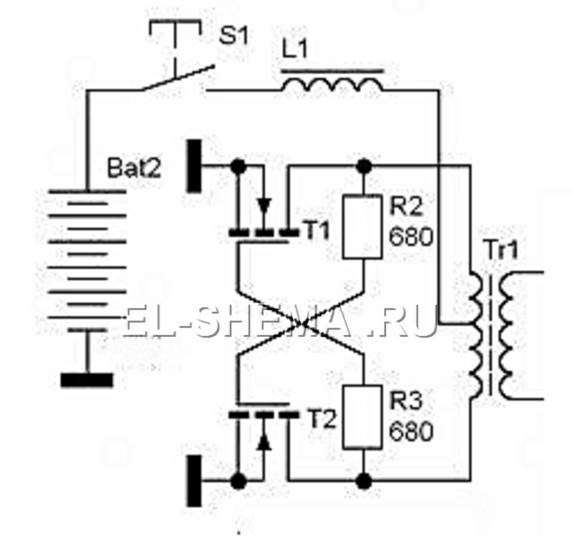 Преобразователь на полевых транзисторах своими руками